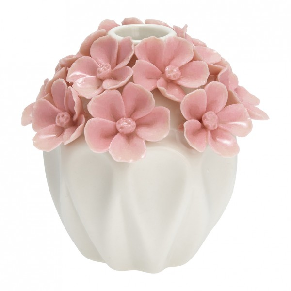 Vase Flower pale pink small