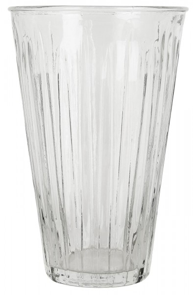 Vase hoch gerillt von Ib Laursen