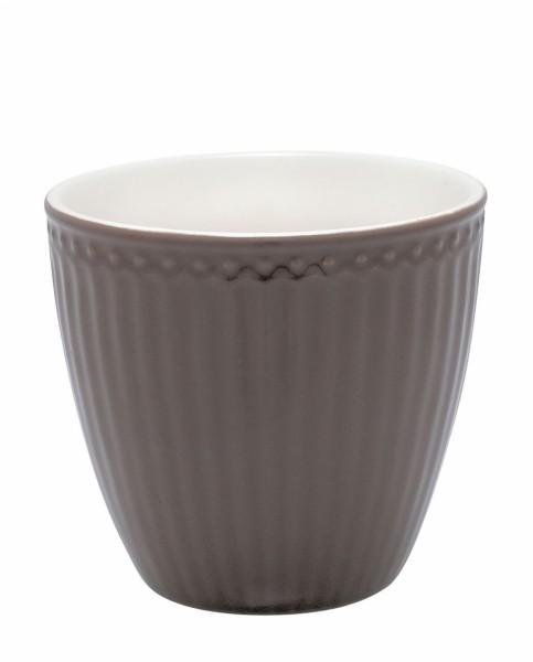 Latte cup Alice dark chocolate von Greengate