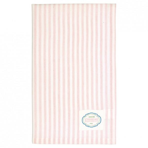 Geschirrtuch Alice Stripe pale pink von Greengate