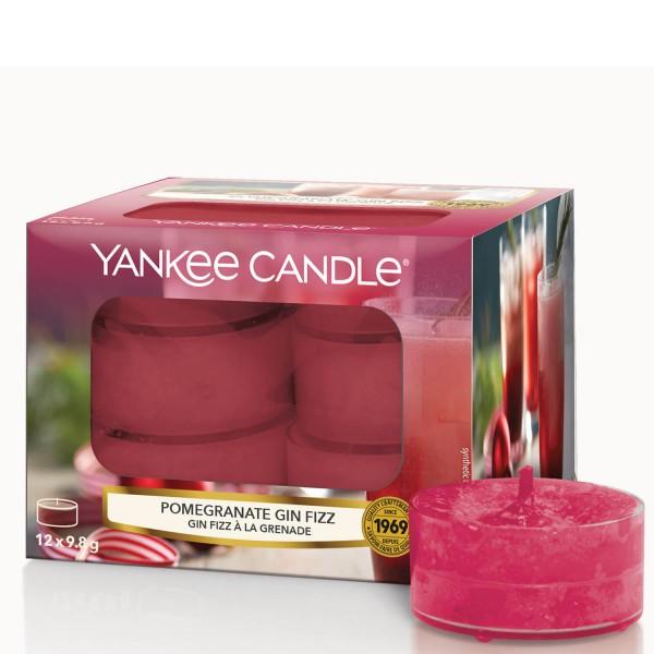 Pomegranate Gin Fizz 12 Teelichter von Yankee Candle
