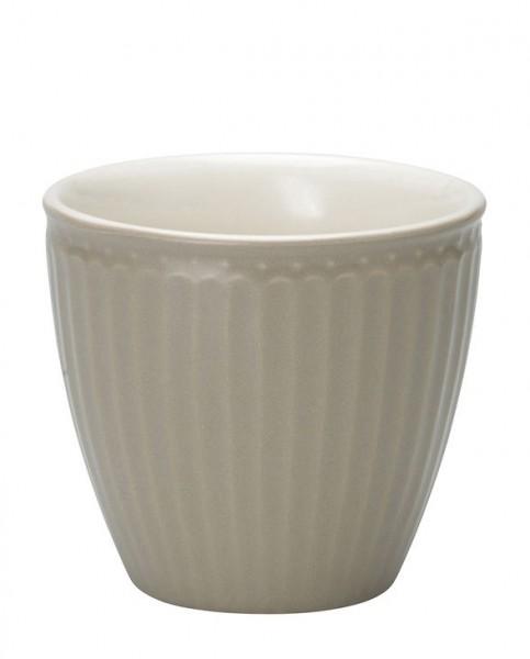 Latte Cup Alice Warm Grey von Greengate