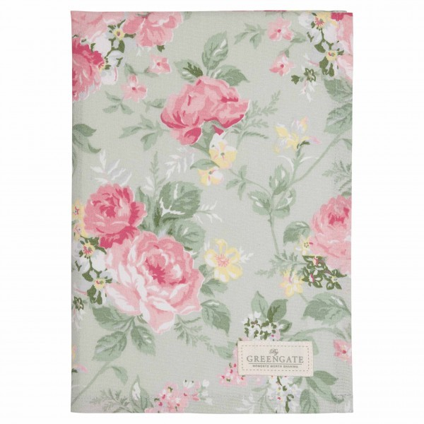 Tea Towel Josephine pale mint von Greengate