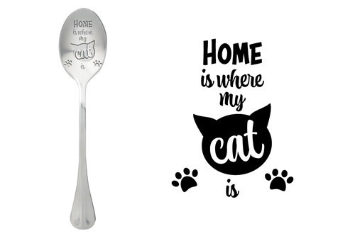 Löffel Home is where the cat is