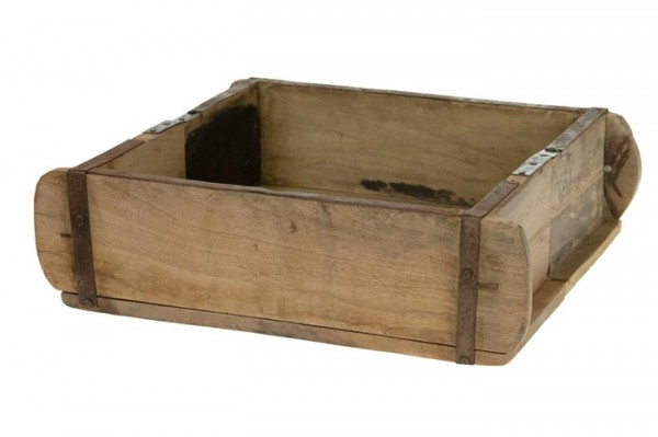 Ziegelform groß, recycled wood 32x25x10 cm