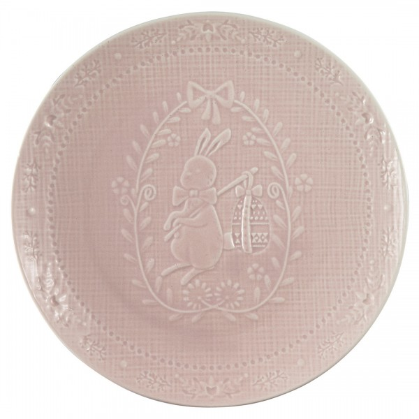 Plate Evy pale pink von Greengate