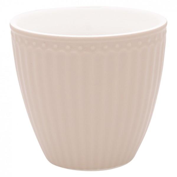 Latte cup Alice creamy fudge von Greengate