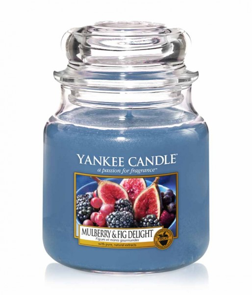 Mulberry& Fig delight M von Yankee Candle