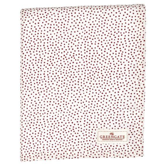Tablecloth Dot white 145x250cm von Greengate