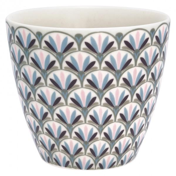 Latte cup Victoria white