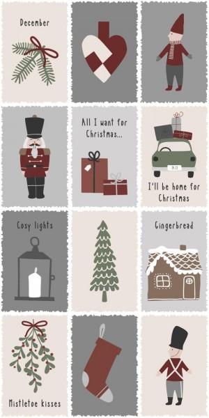 Serviette Nostalgic Christmas 16 Stck