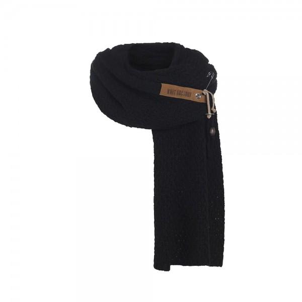 Luna Schal schwarz