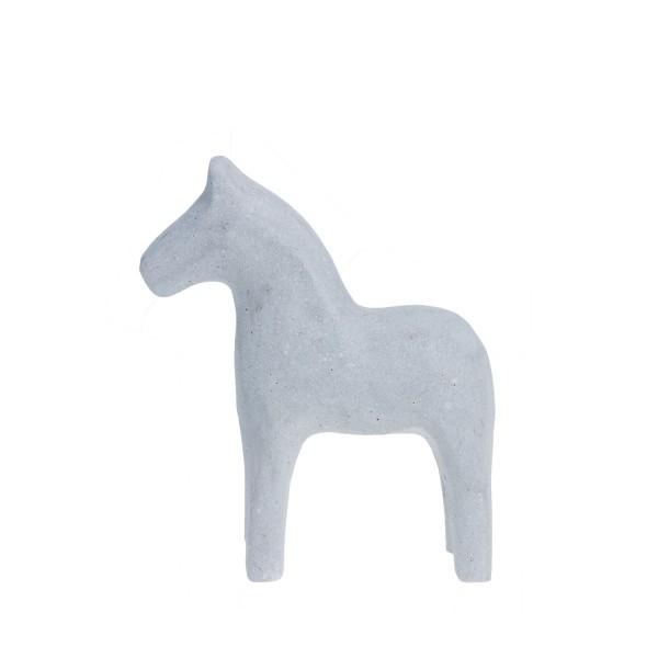 Mora Horse Polystone grey von STOREFACTORY