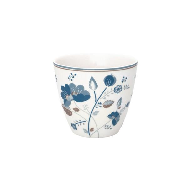 Latte cup Mozy white von Greengate