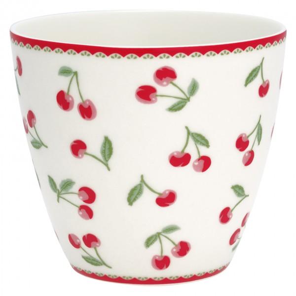 Latte Cup Cherry white von Greengate