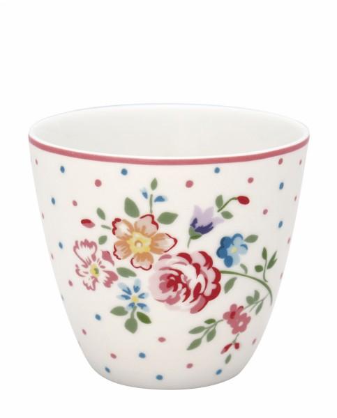 Latte cup Belle white von Greengate
