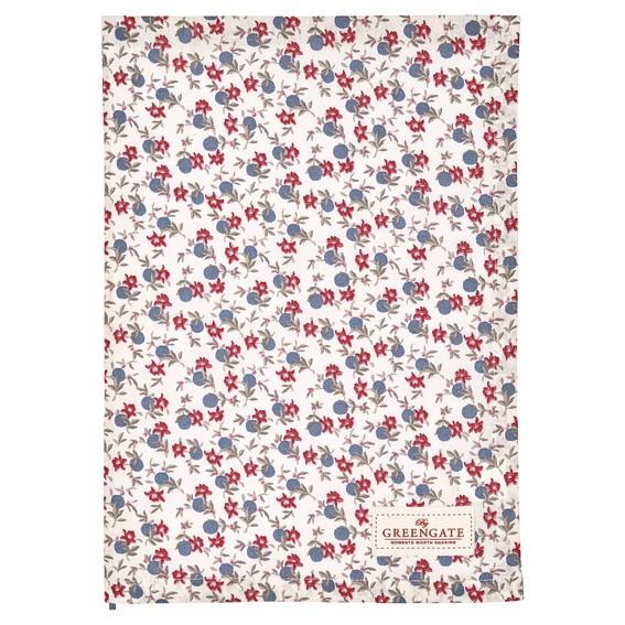 Tea towel Helena white von Greengate