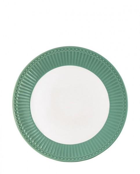 Greengate Frühstücksteller Alice dusty green