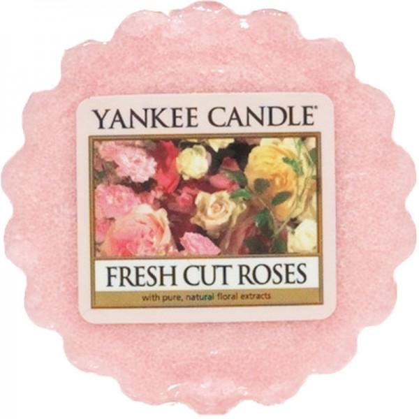 Fresh Cut Roses Wax Melt von Yankee Candle