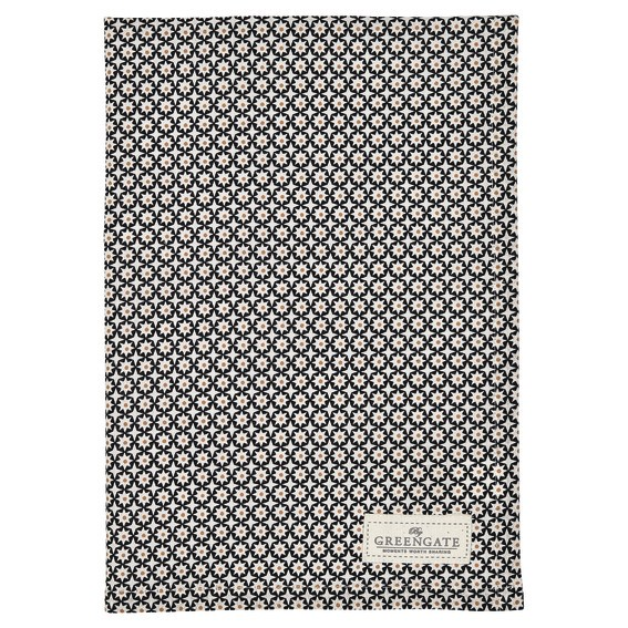Tea towel Lara gold von Greengate
