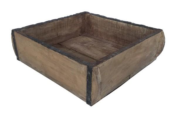 Holzkasten quadratisch 10/33/33cm