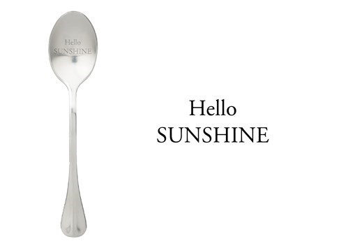 Löffel Hello Sunshine