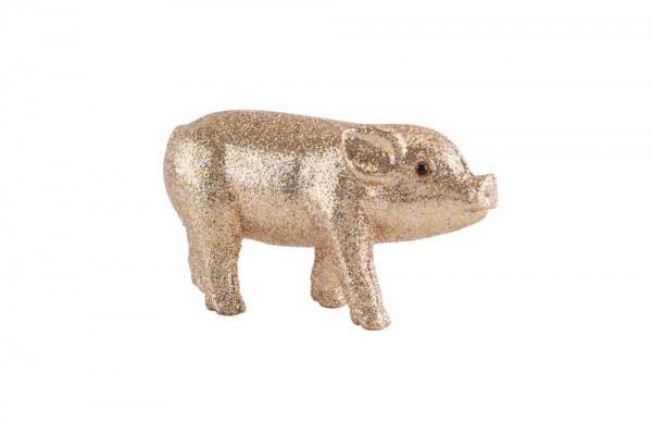 Schweinchen Solna S glitzer