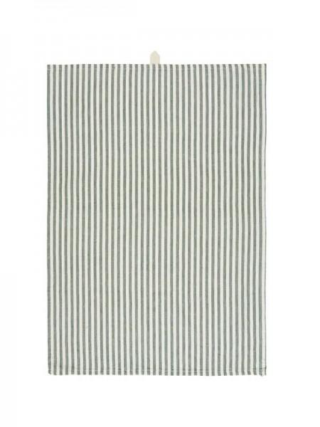 Geschirrtuch m/grünen Streifen von Ib Laursen