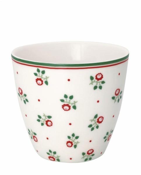 Latte cup Abi petit white von Greengate