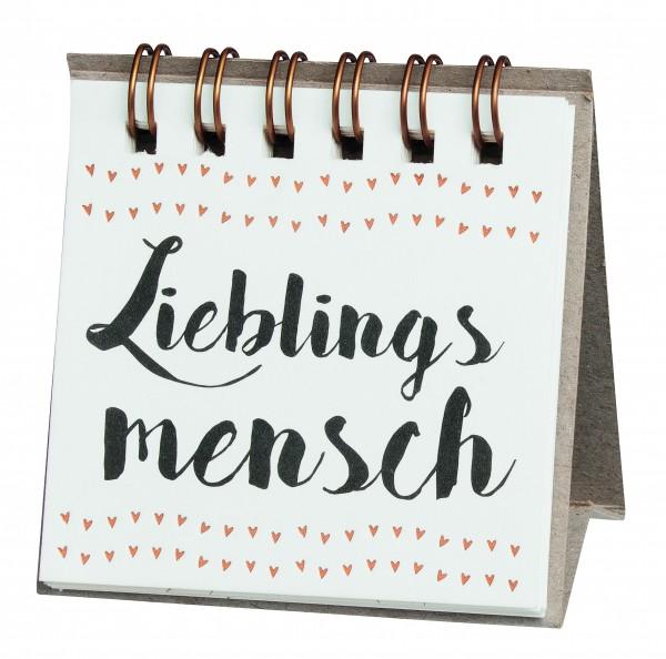 """Kleine Botschaften """"Lieblingsmensch"""" von Räder"""