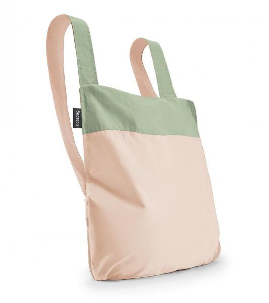 Tasche Bag&Backpack Olive/ Rose von Notabag