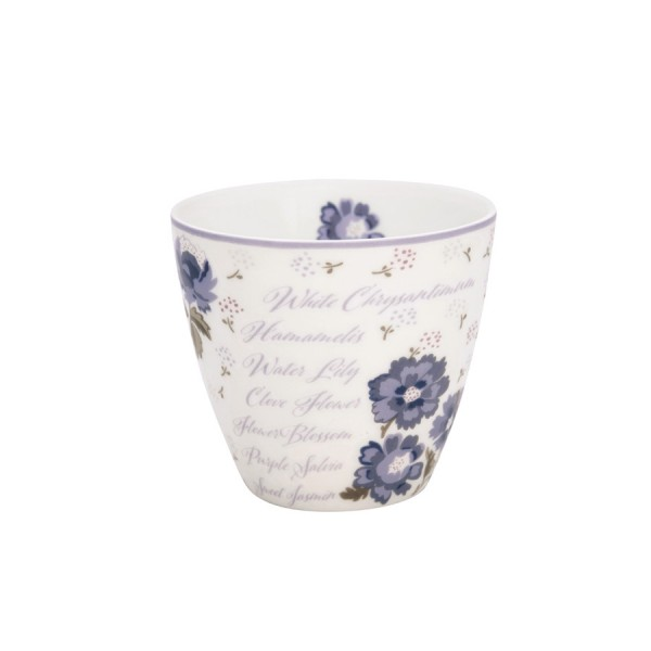 Latte cup Beatrice white
