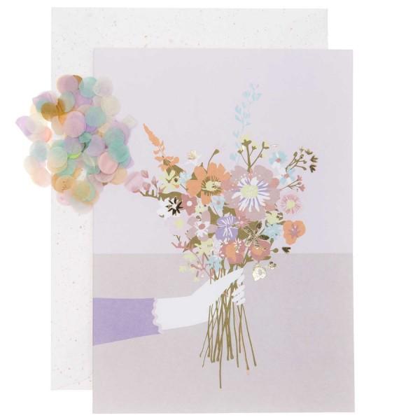 PAPER POETRY Grusskartenset Blumenstrauß