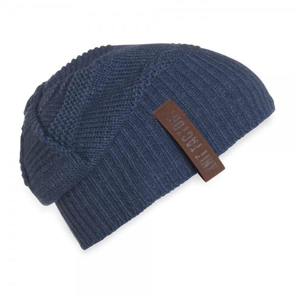 Sol Mütze Jeansblau