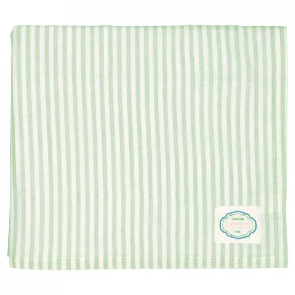 Tischdecke Alice stripe pale green von Greengate