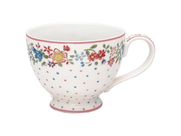 Teacup Belle white