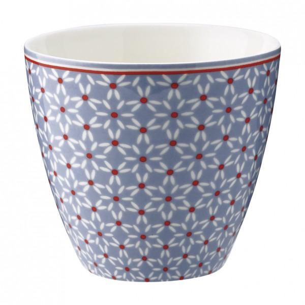 Latte cup Juno dusty blue von Greengate