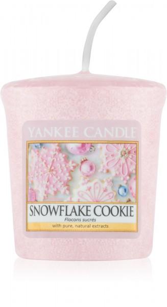 Snowflake Cookie Votiv Yankee Candle