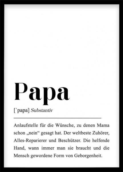 Poster Papa