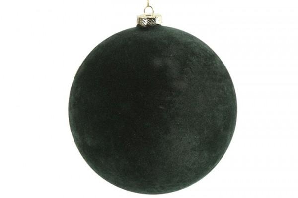 Weihnachtskugel XL grün