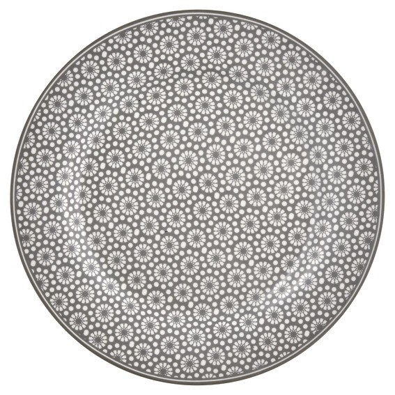 Plate Kelly warm grey von Greengate