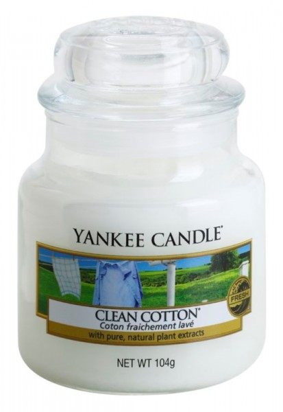 Clean Cotton 104g von Yankee Candle