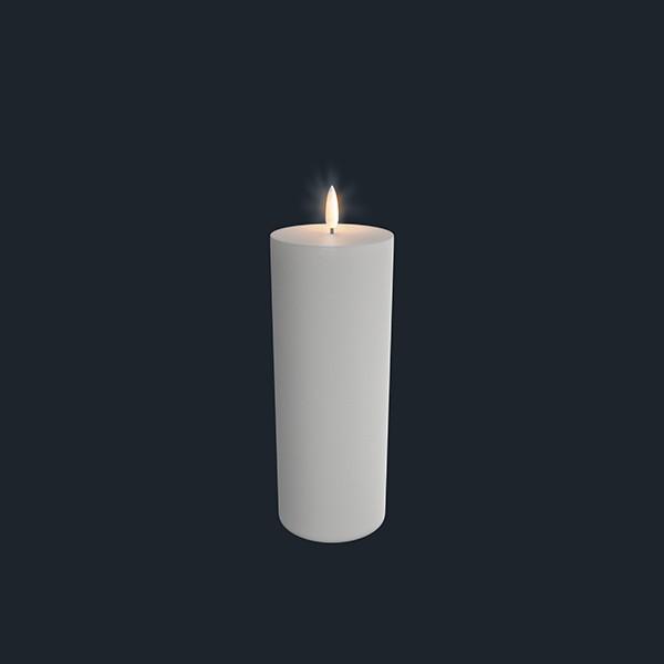 LED Kerze 7,8 x 20,3 cm Uyuni nordic white