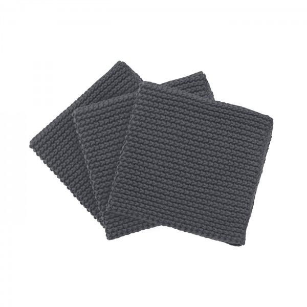 Spültücher Wipe Perla, magnet, 3er Set von Blomus