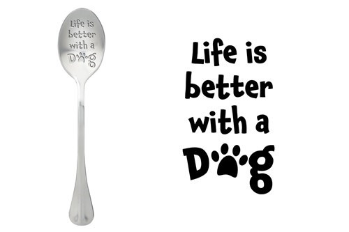 Löffel Life is better with a Dog