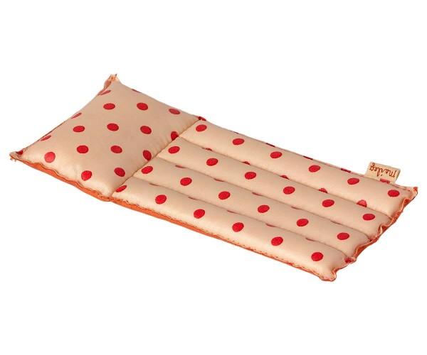 Luftmatratze rot gepunktet für Maileg Mäuse