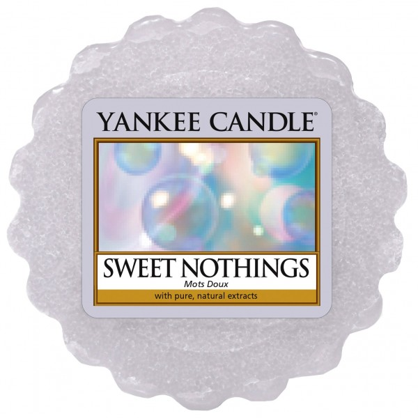 Sweet Nothings Wax Melt von Yankee Candle