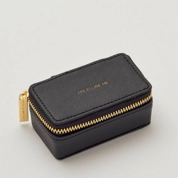 Reiseschmuckbox Black von Erstelle Bartlett