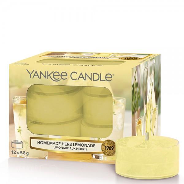 Homemade Herb Lemonade 12 Teelichter von Yankee Candle