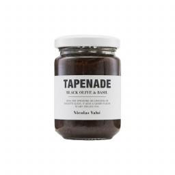 Tapenade mit Schwarzer Olive & Basilikum, 140 g